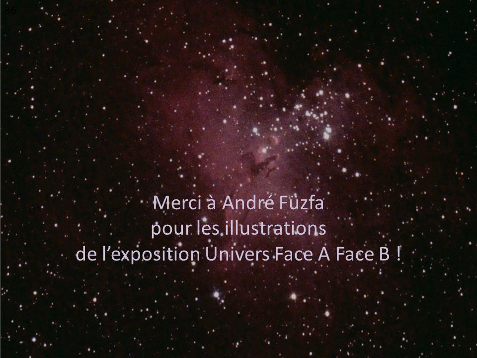 pour les illustrations de l'exposition Univers Face A Face B !