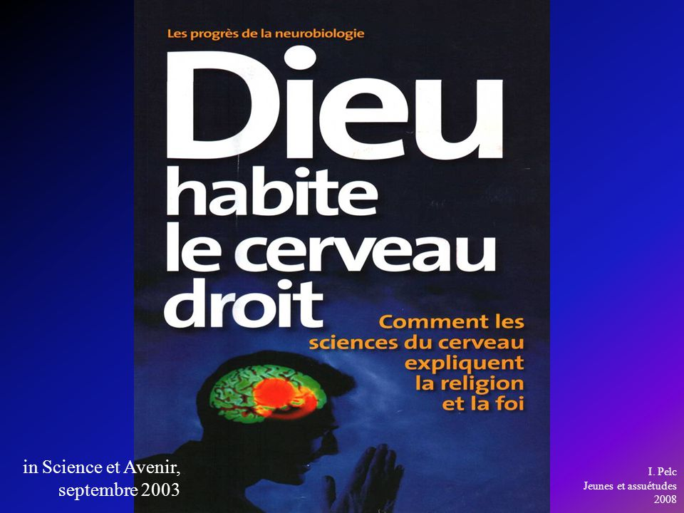 in Science et Avenir, septembre 2003