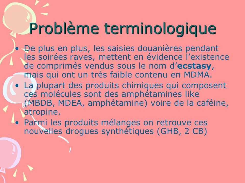 Problème terminologique