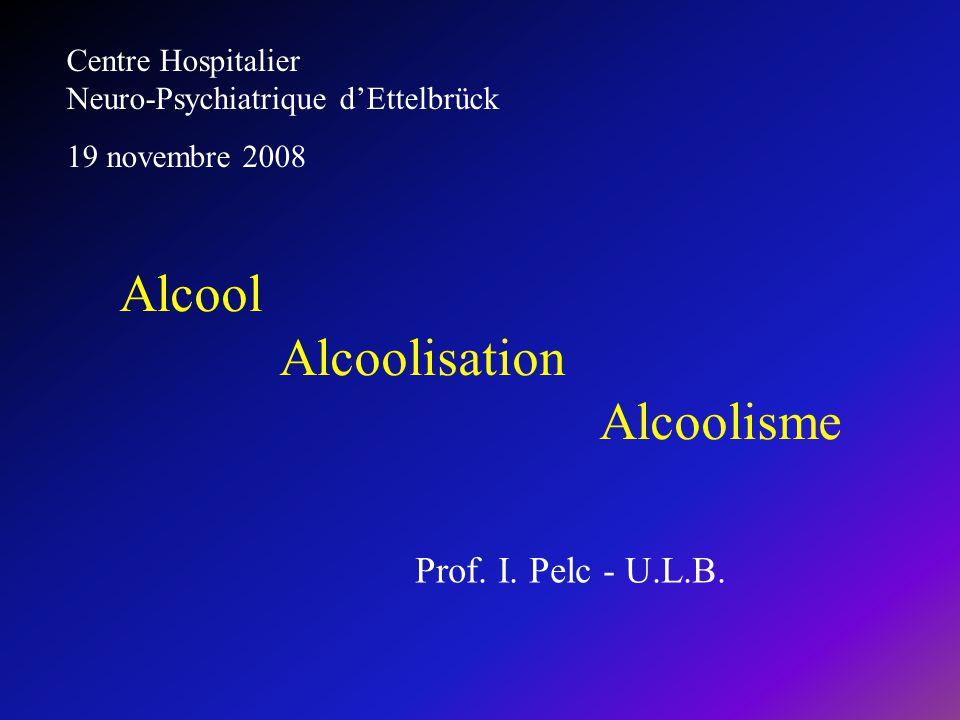 Alcool Alcoolisation Alcoolisme