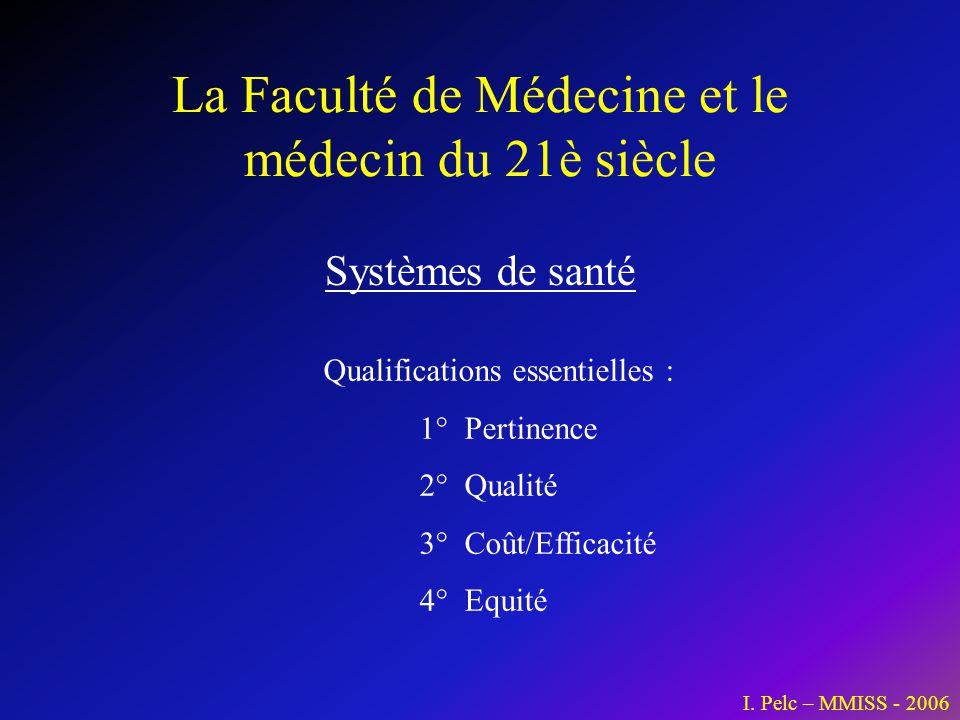 La Faculté de Médecine et le médecin du 21è siècle