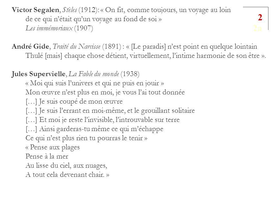 Victor Segalen, Stèles (1912): « On fit, comme toujours, un voyage au loin de ce qui n'était qu'un voyage au fond de soi »