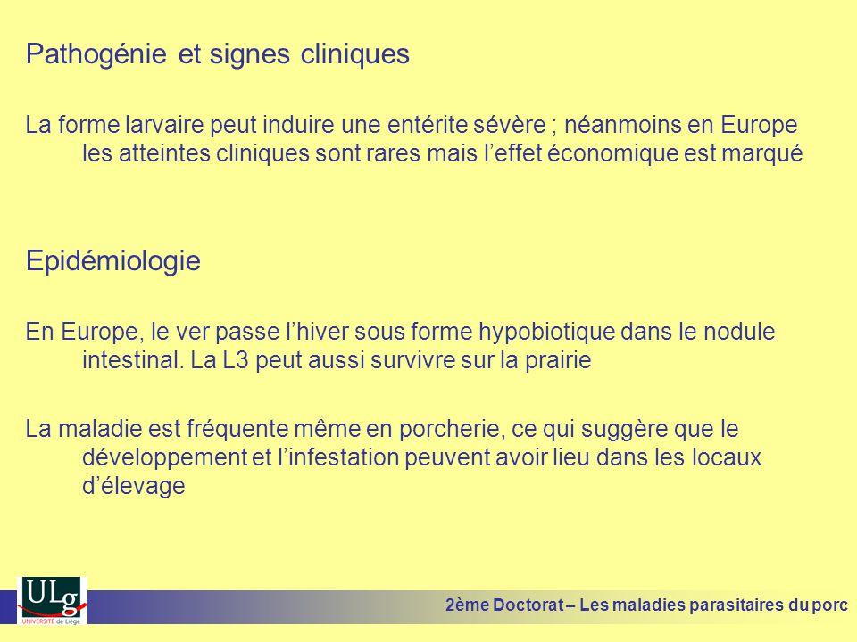 Pathogénie et signes cliniques