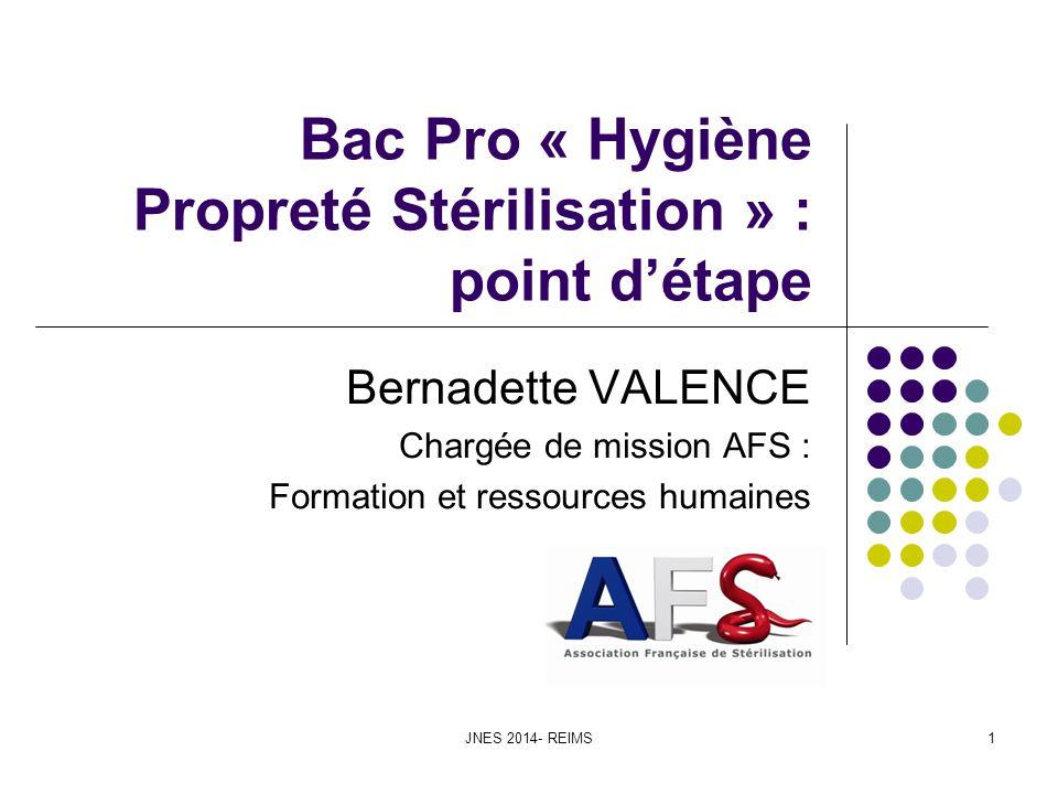 Bac Pro « Hygiène Propreté Stérilisation » : point d'étape