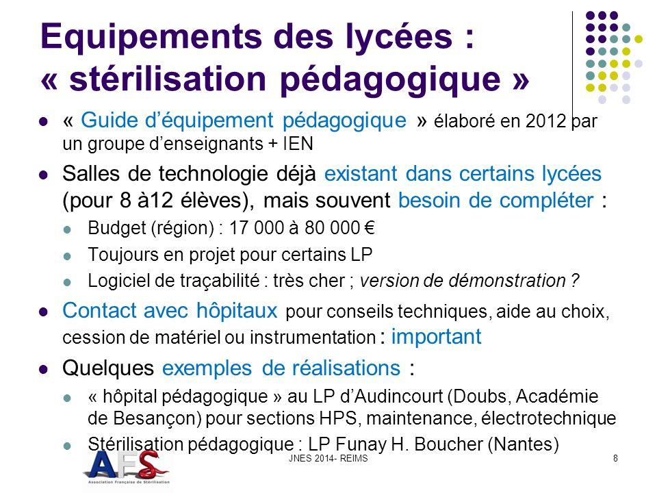 Equipements des lycées : « stérilisation pédagogique »