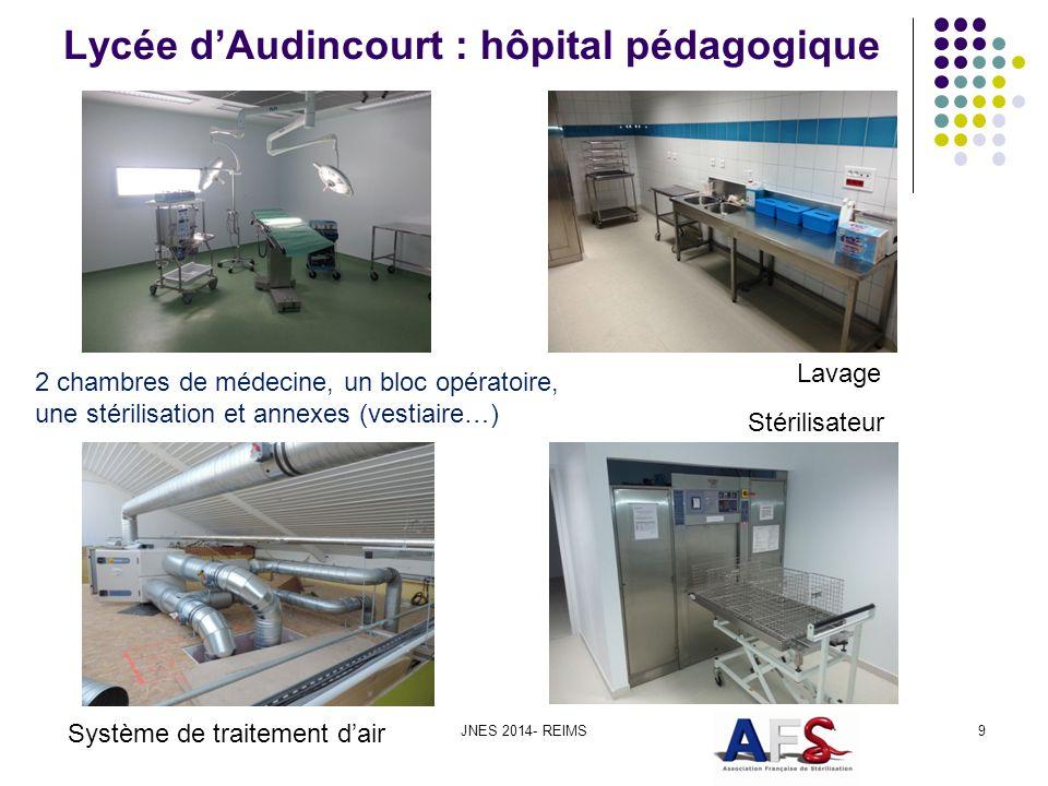 Lycée d'Audincourt : hôpital pédagogique