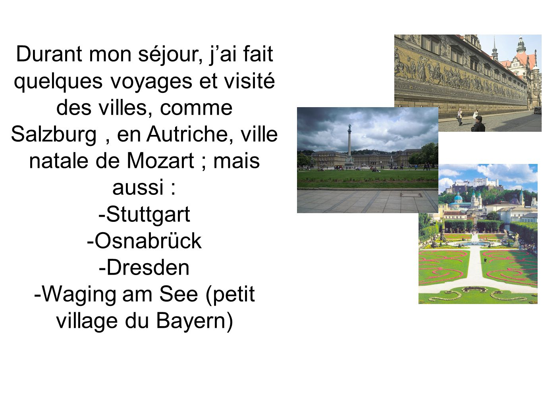 -Waging am See (petit village du Bayern)