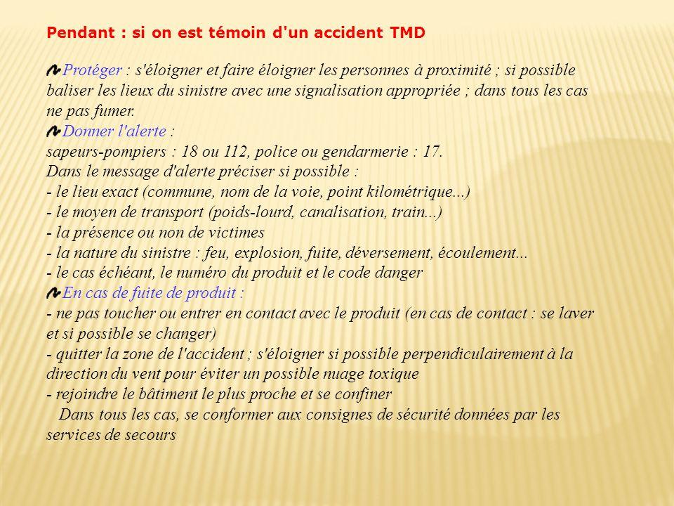 sapeurs-pompiers : 18 ou 112, police ou gendarmerie : 17.