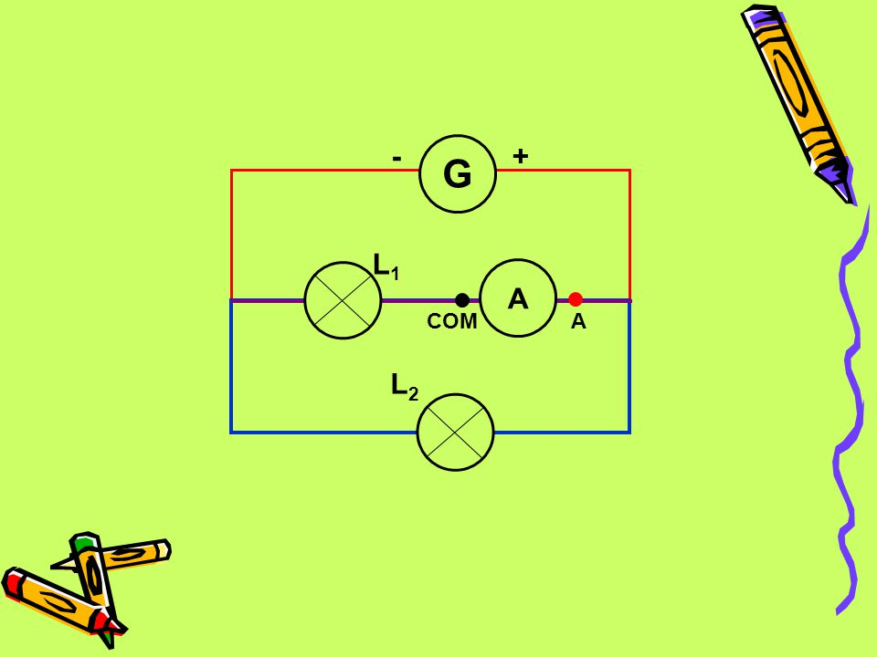 L2 L1 G - + COM A
