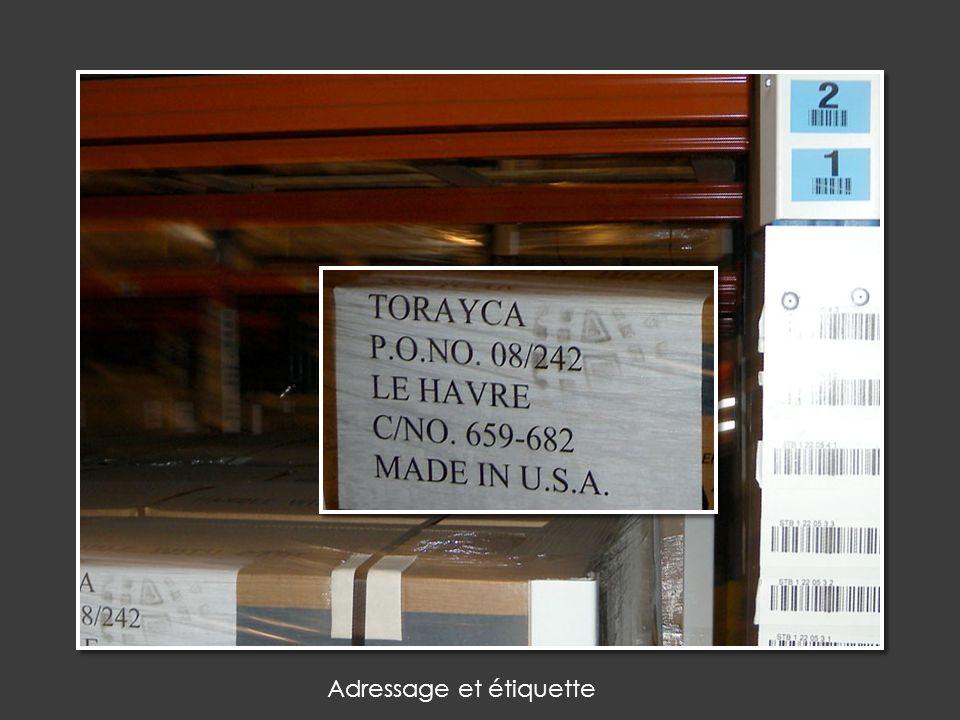 Adressage et étiquette
