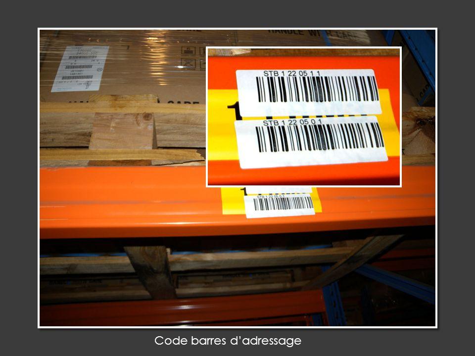 Code barres d'adressage