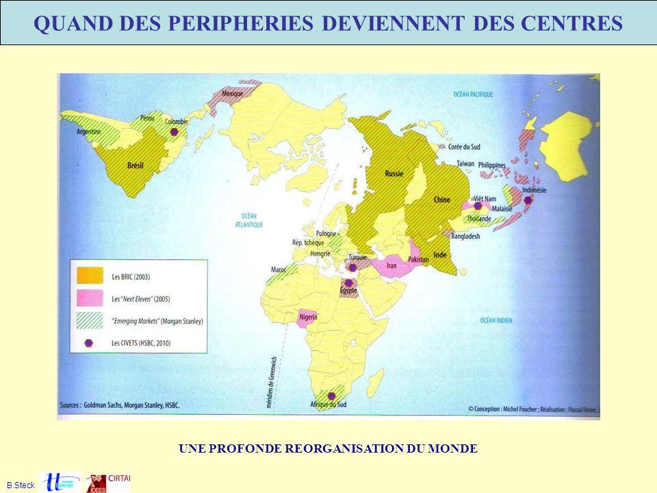 QUAND DES PERIPHERIES DEVIENNENT DES CENTRES