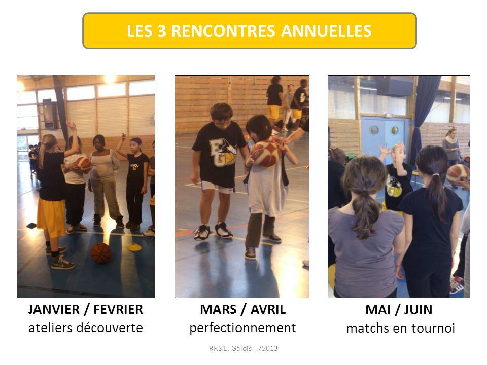 LES 3 RENCONTRES ANNUELLES