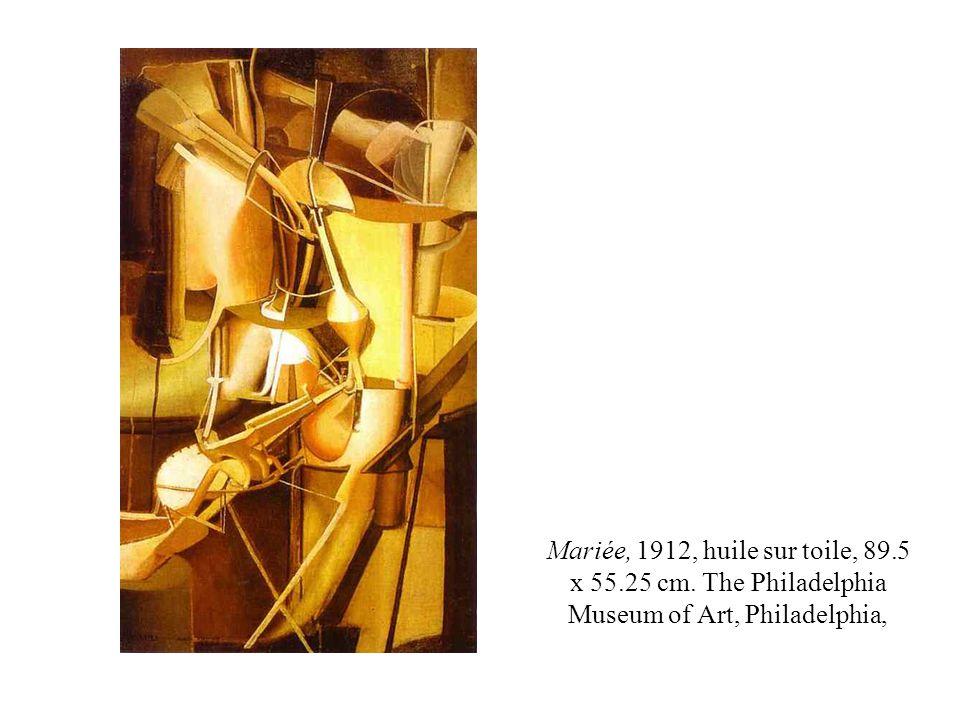 Mariée, 1912, huile sur toile, 89. 5 x 55. 25 cm