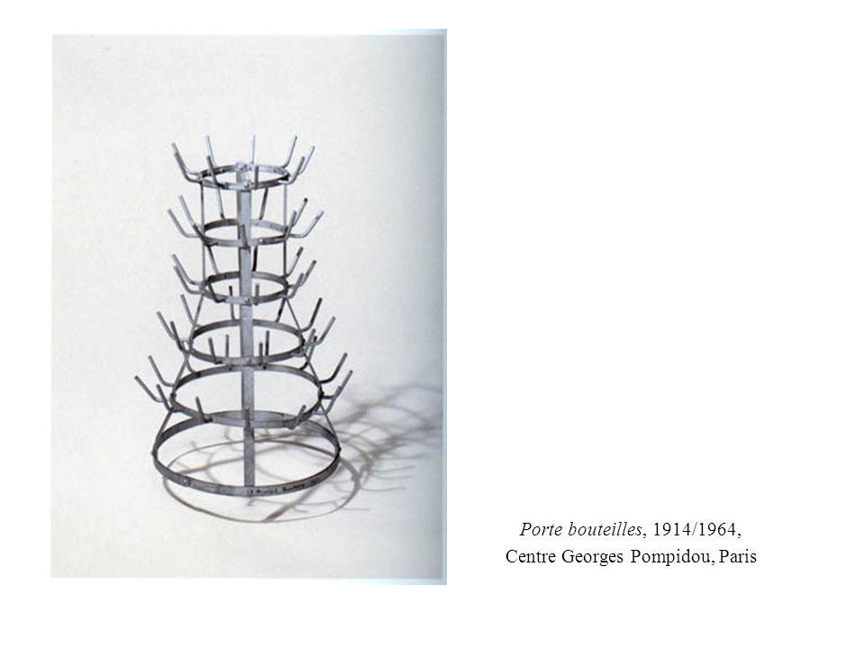 Porte bouteilles, 1914/1964, Centre Georges Pompidou, Paris