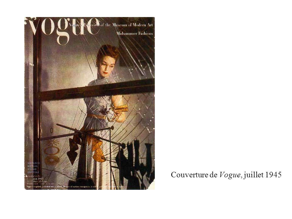 Couverture de Vogue, juillet 1945