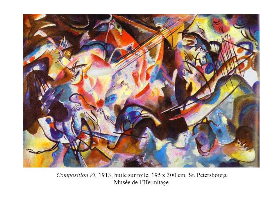 Composition VI. 1913, huile sur toile, 195 x 300 cm. St