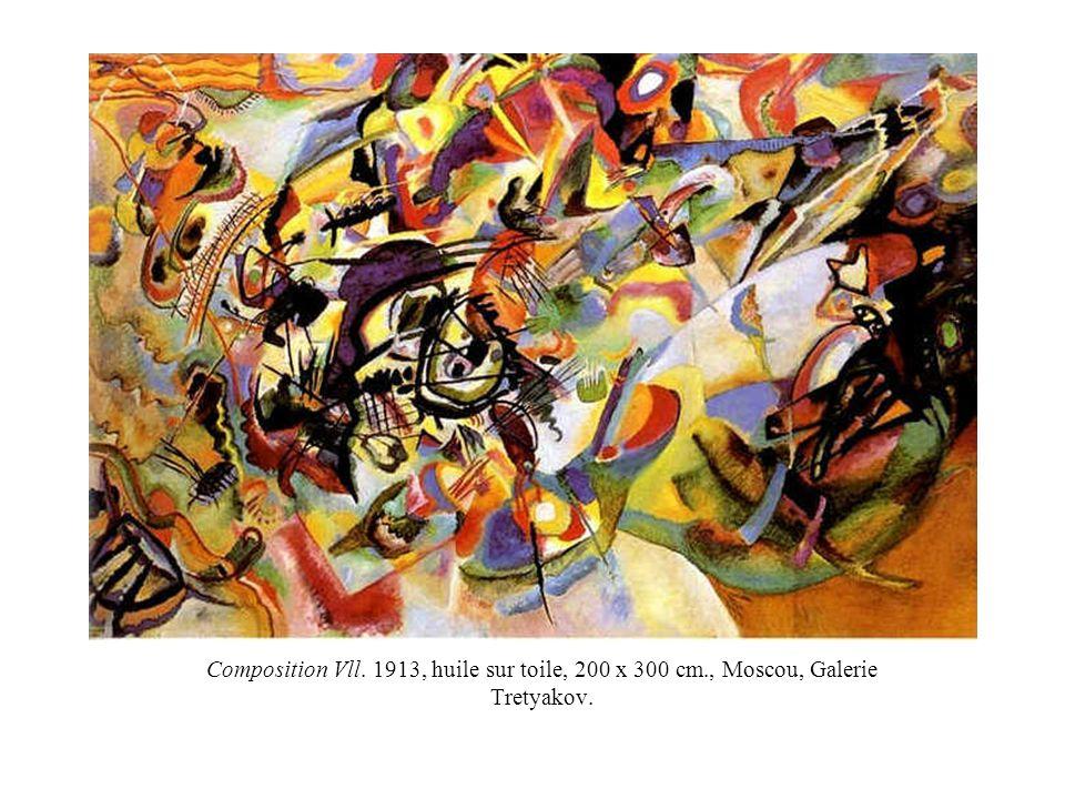 Composition Vll. 1913, huile sur toile, 200 x 300 cm