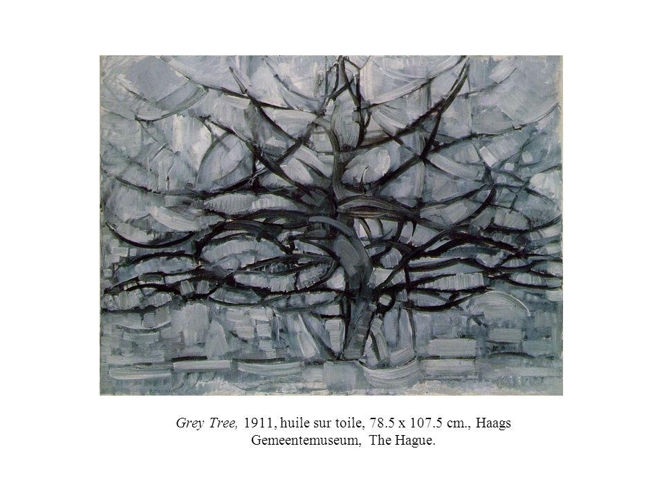 Grey Tree, 1911, huile sur toile, 78. 5 x 107. 5 cm