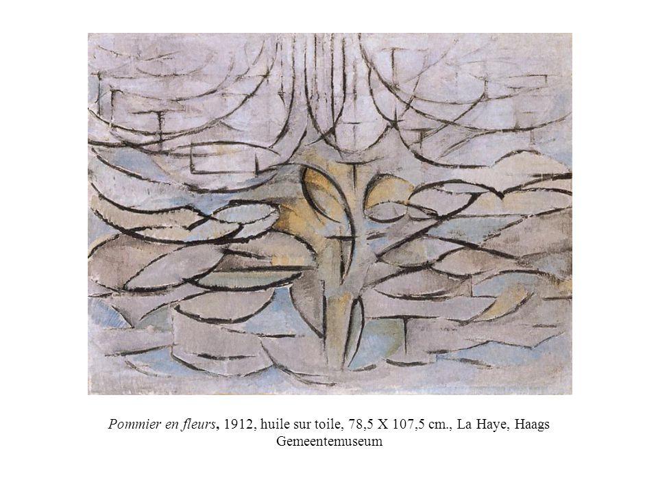 Pommier en fleurs, 1912, huile sur toile, 78,5 X 107,5 cm