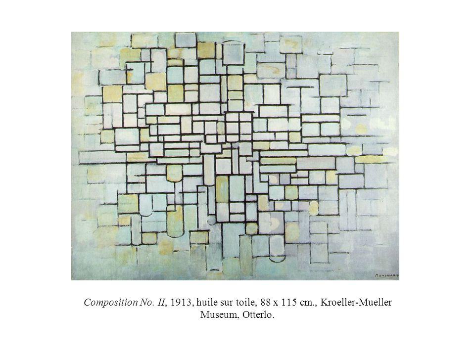Composition No. II, 1913, huile sur toile, 88 x 115 cm