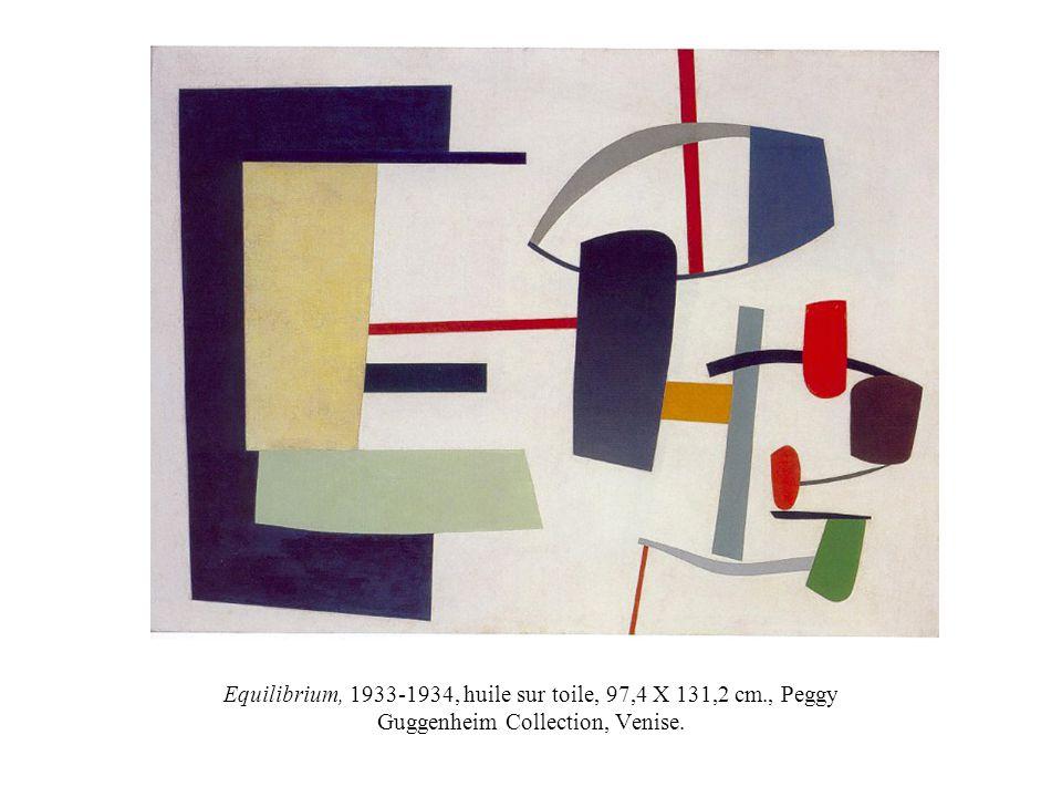 Equilibrium, 1933-1934, huile sur toile, 97,4 X 131,2 cm