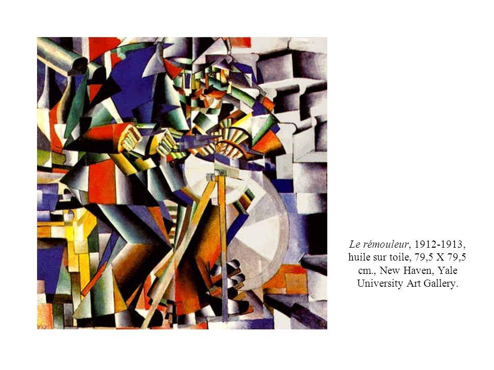 Le rémouleur, 1912-1913, huile sur toile, 79,5 X 79,5 cm