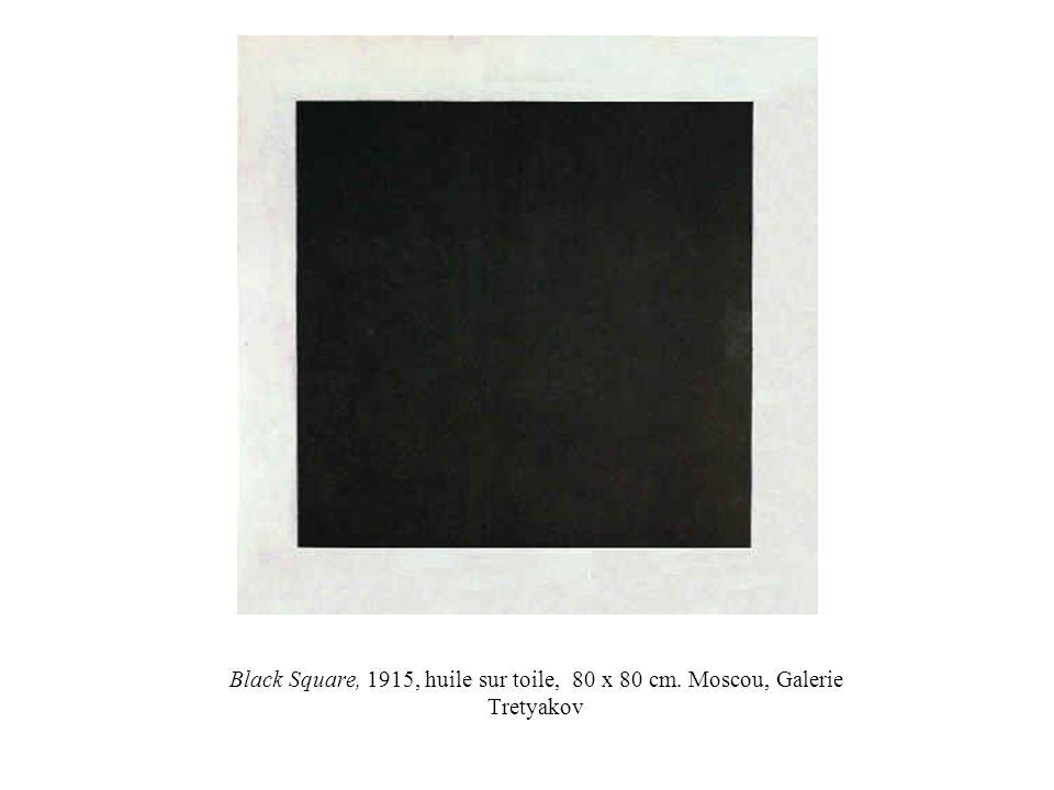 Black Square, 1915, huile sur toile, 80 x 80 cm