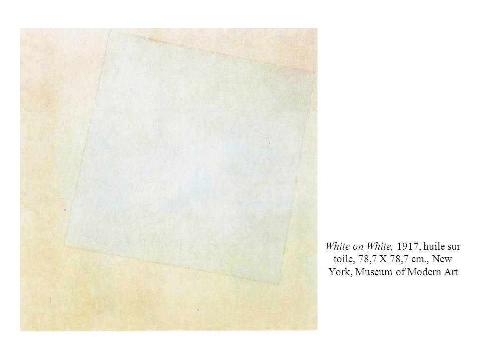 White on White, 1917, huile sur toile, 78,7 X 78,7 cm