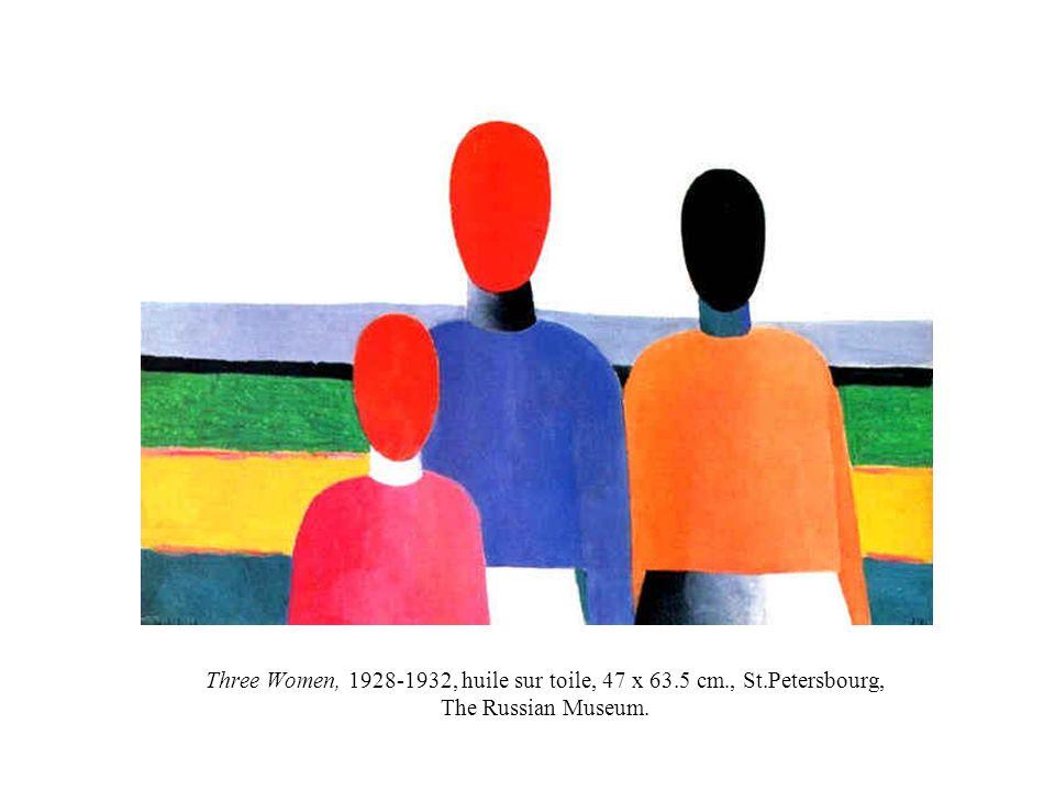 Three Women, 1928-1932, huile sur toile, 47 x 63. 5 cm. , St
