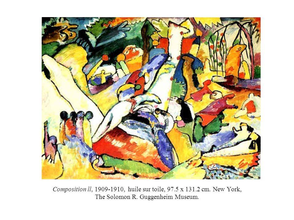 Composition ll, 1909-1910, huile sur toile, 97. 5 x 131. 2 cm