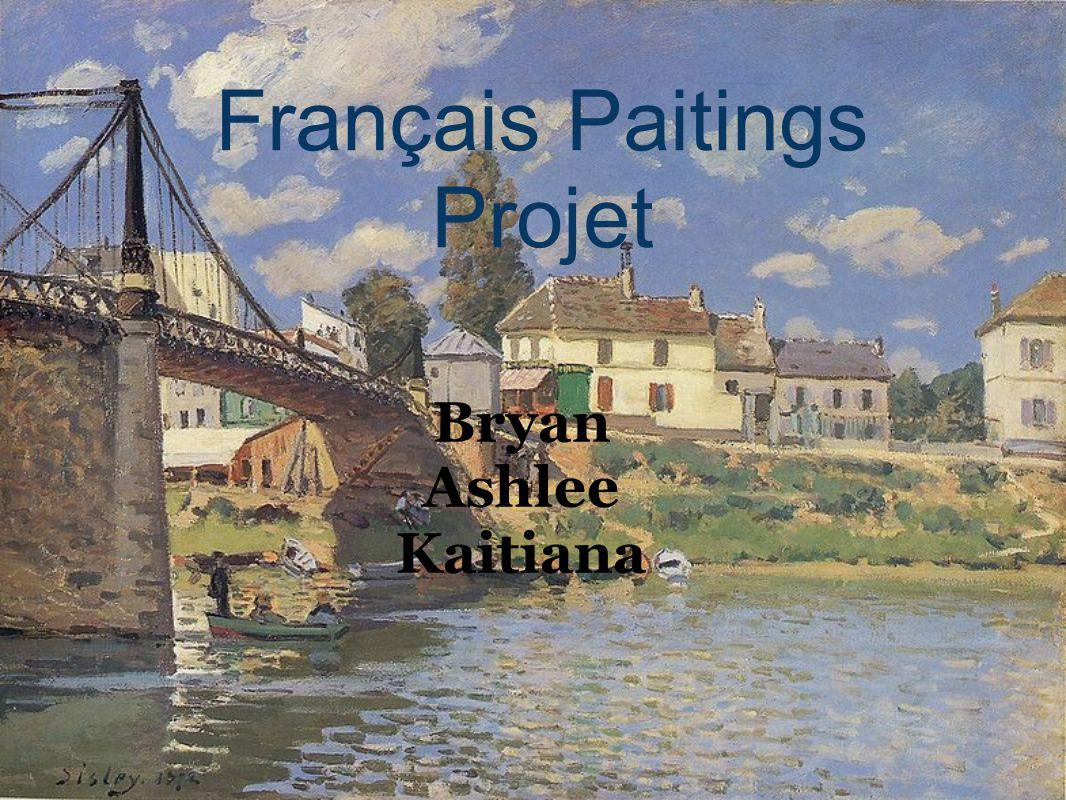 Français Paitings Projet