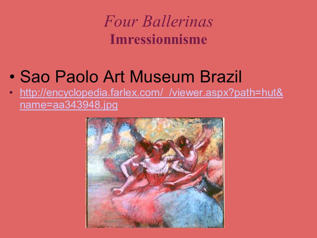 Four Ballerinas Imressionnisme