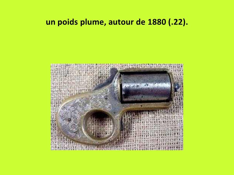 un poids plume, autour de 1880 (.22).