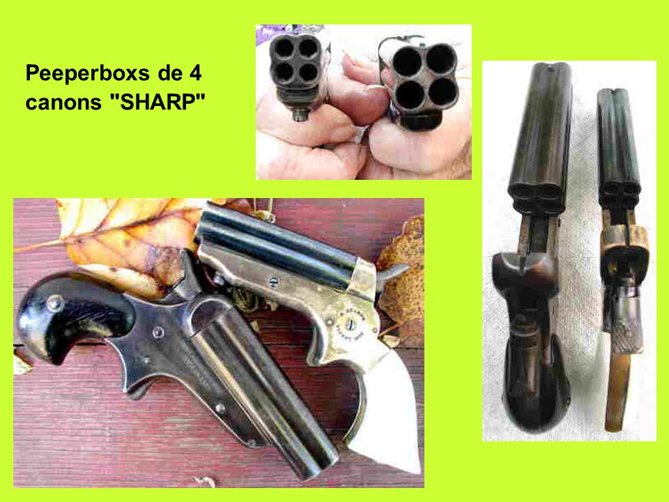 Peeperboxs de 4 canons SHARP