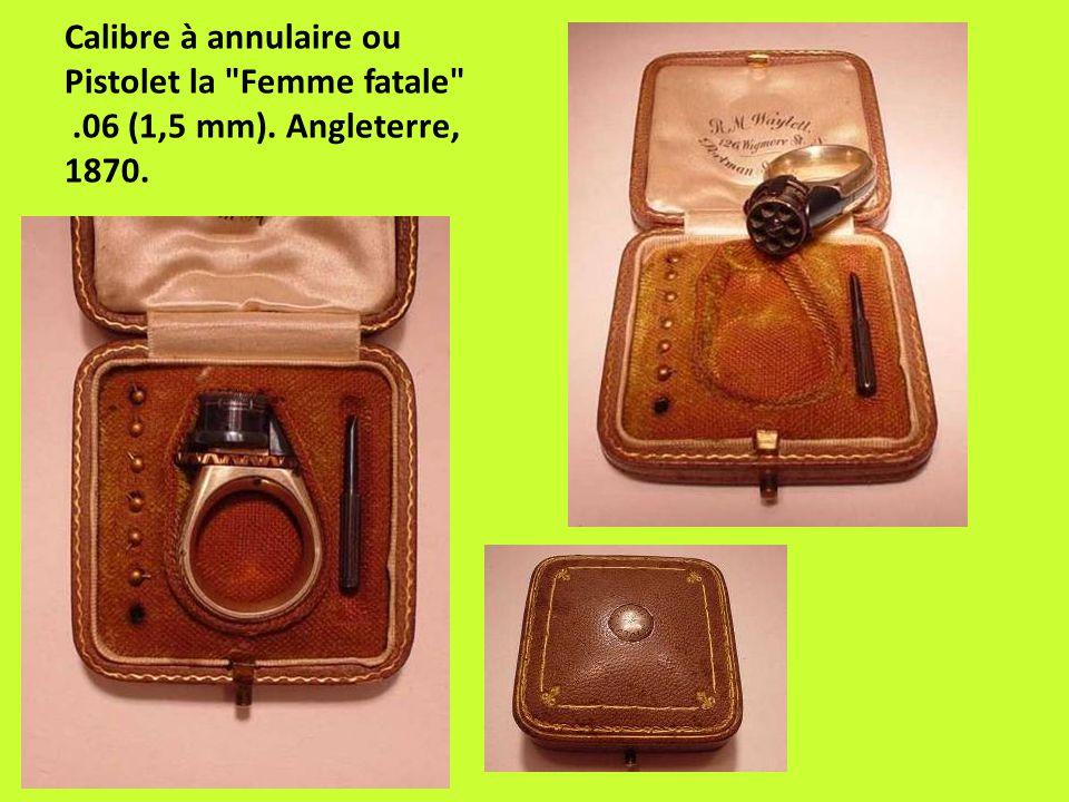 Calibre à annulaire ou Pistolet la Femme fatale . 06 (1,5 mm)