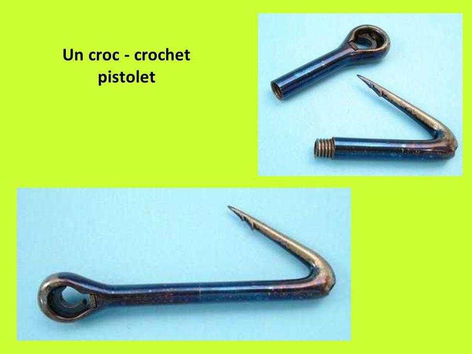 Un croc - crochet pistolet