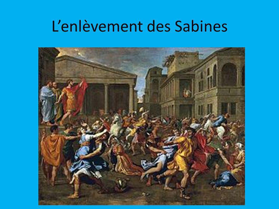 L'enlèvement des Sabines