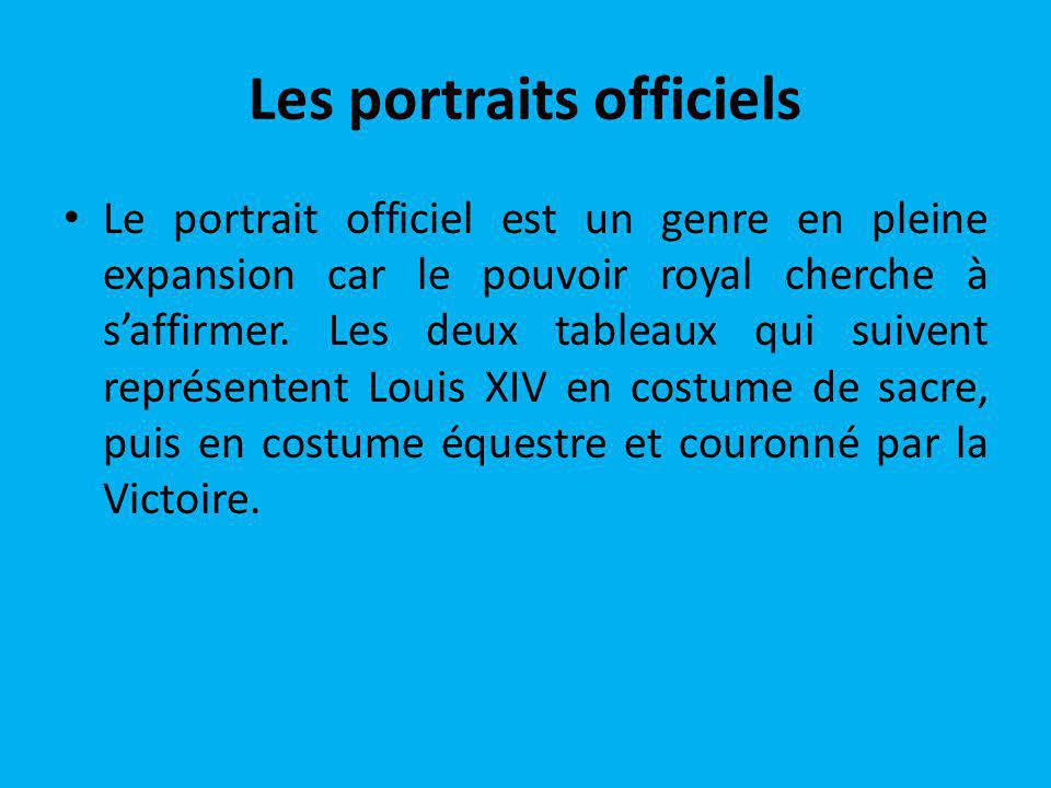 Les portraits officiels