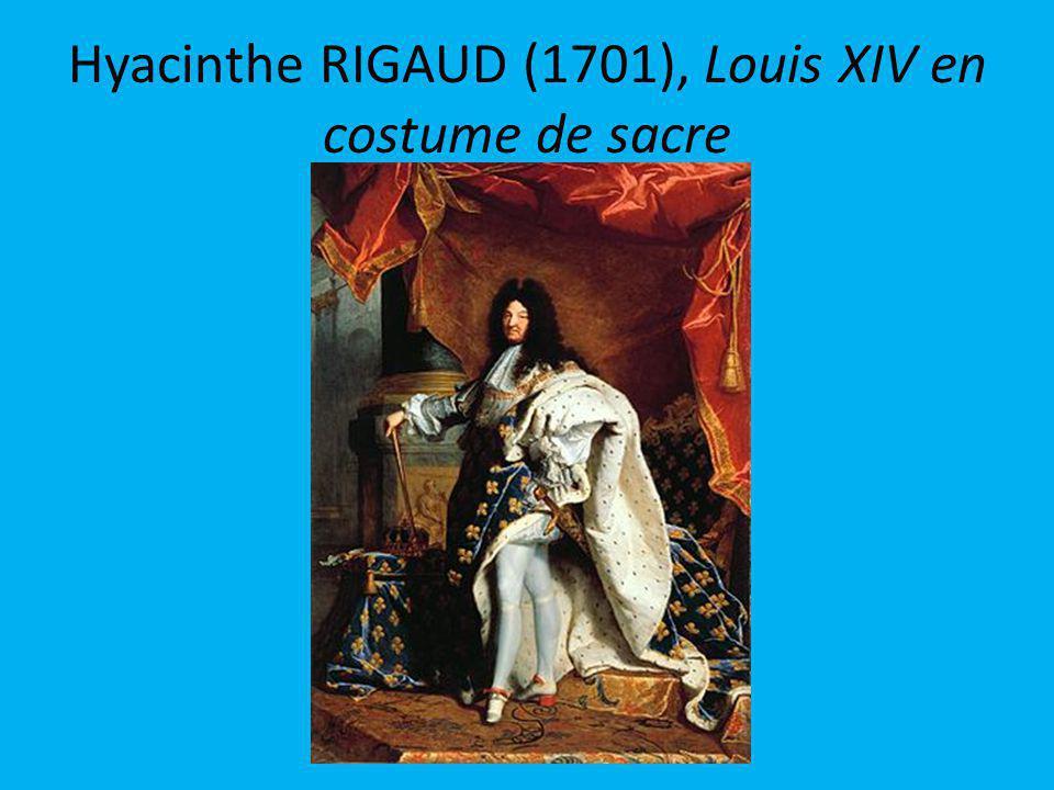 Hyacinthe RIGAUD (1701), Louis XIV en costume de sacre