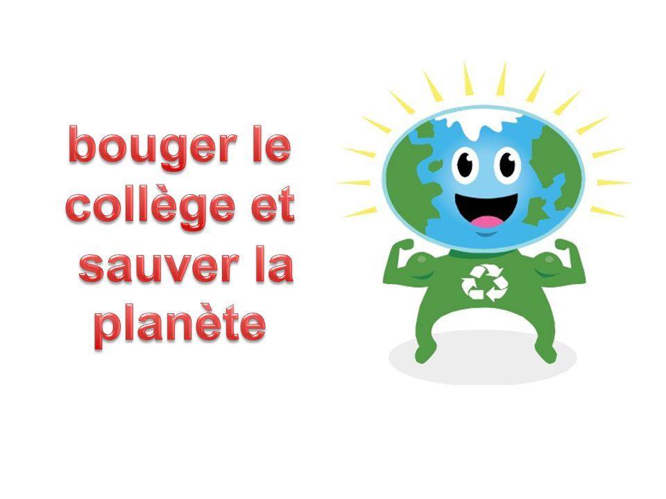 bouger le collège et sauver la planète