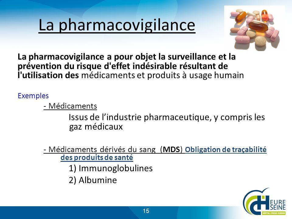 La pharmacovigilance