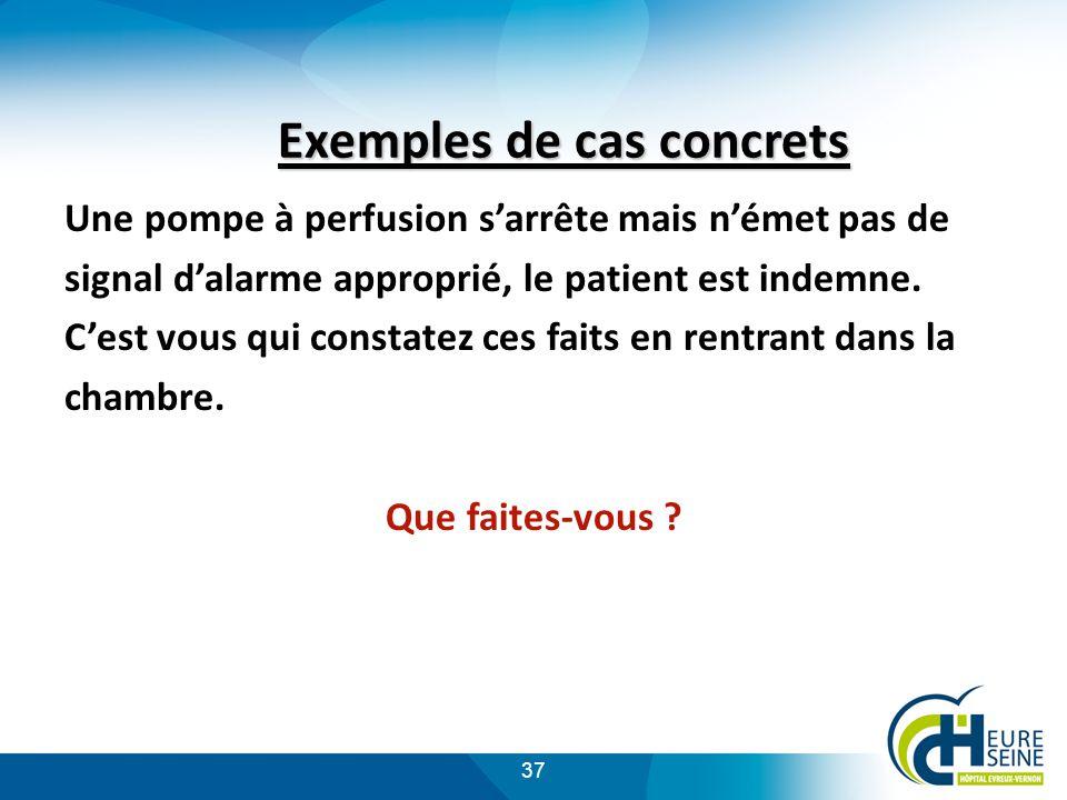 Exemples de cas concrets