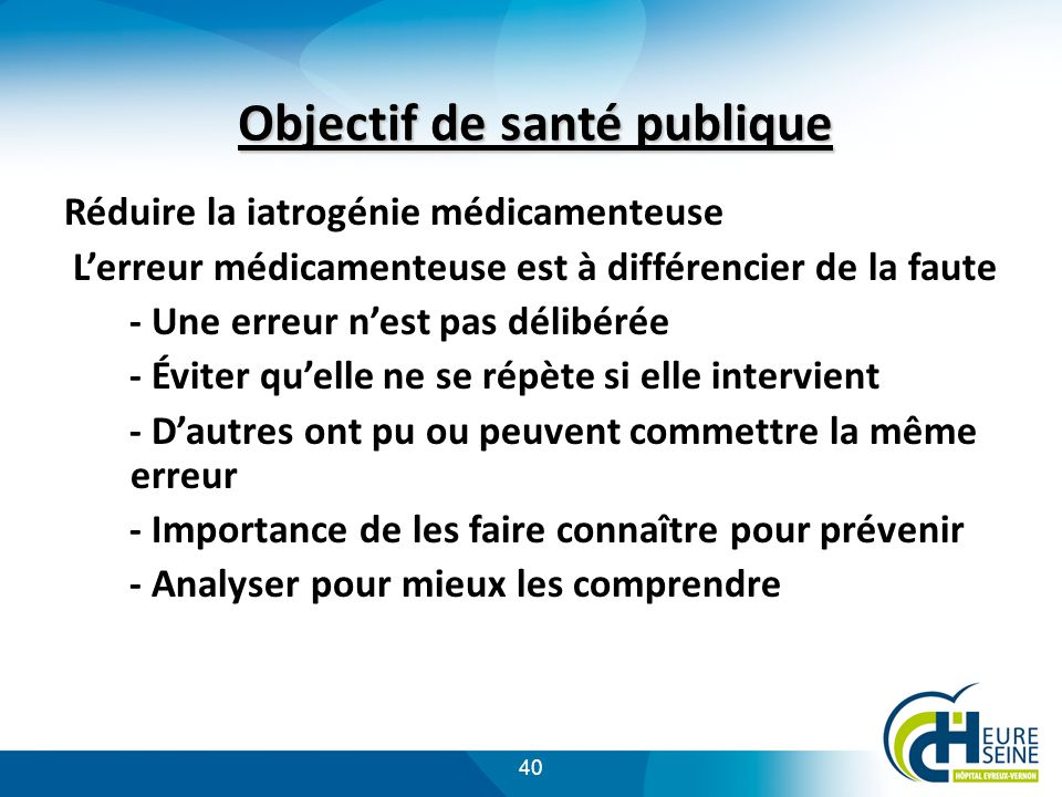 Objectif de santé publique