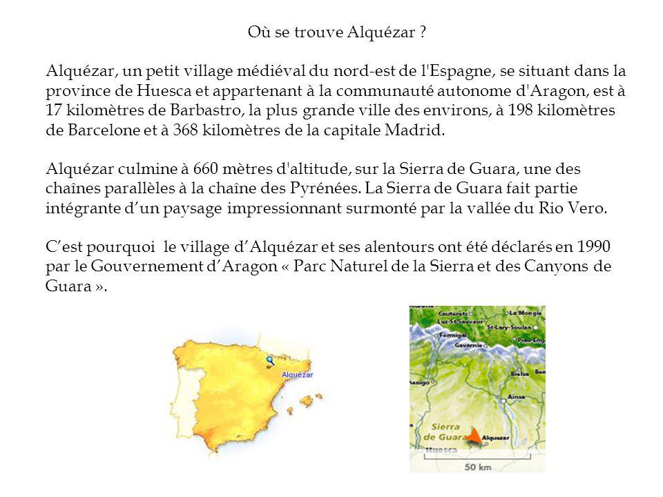 Où se trouve Alquézar