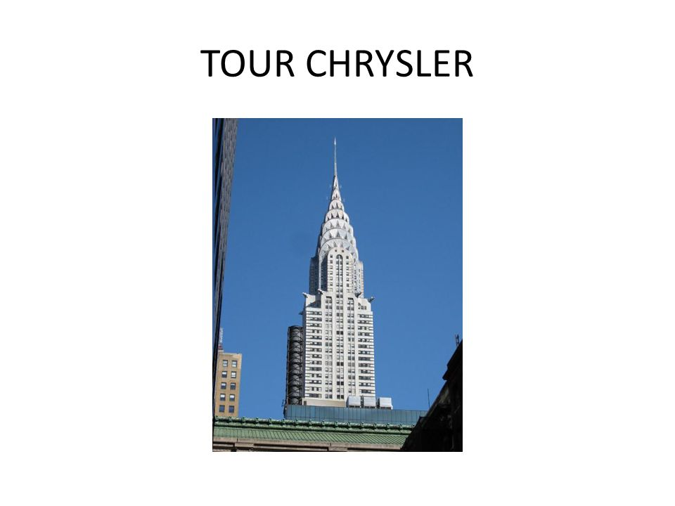 TOUR CHRYSLER