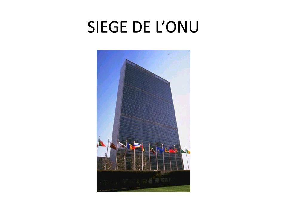 SIEGE DE L'ONU