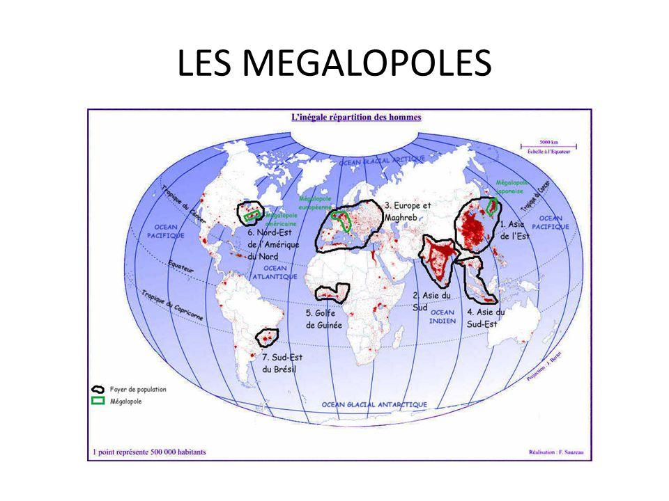 LES MEGALOPOLES