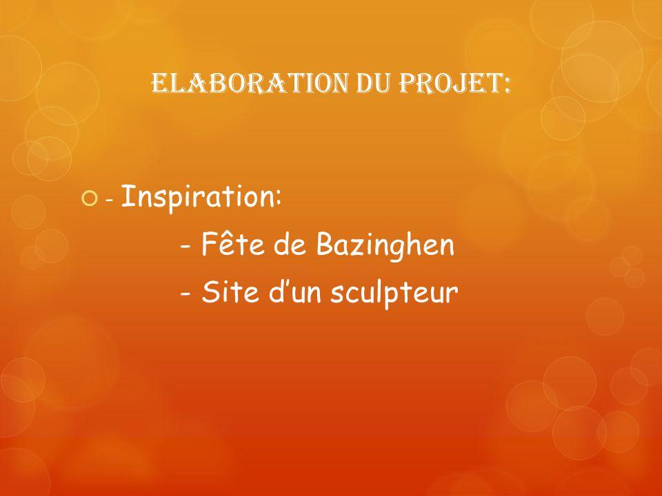 Elaboration du projet: