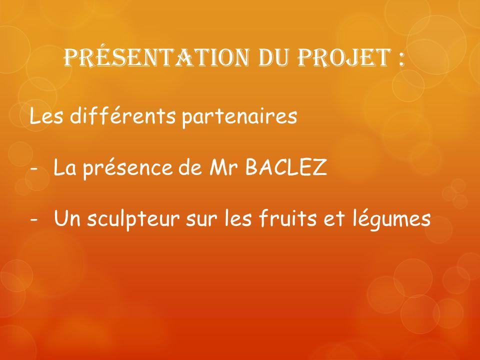 Présentation du projet :